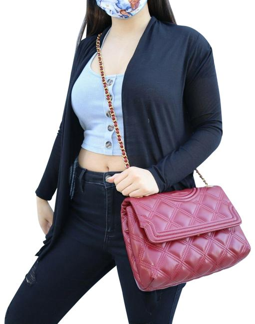 Item - Shoulder Fleming Soft Convertible Red Leather Cross Body Bag