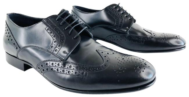 Item - Black Luxford Abhdu Wingtip Derby Leather Loafers Flats Size EU 44.5 (Approx. US 14.5) Regular (M, B)