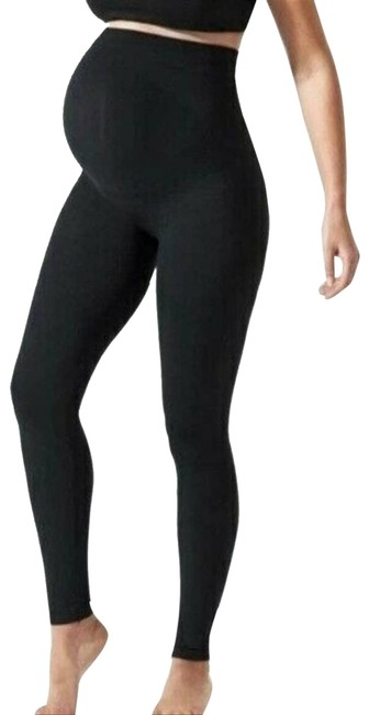 Item - Black Belly Support Maternity Bottoms Size 4 (S, 27)