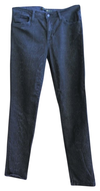 JOE'S Jeans Skinny Ankle Stretch Snakeskin Design Pants
