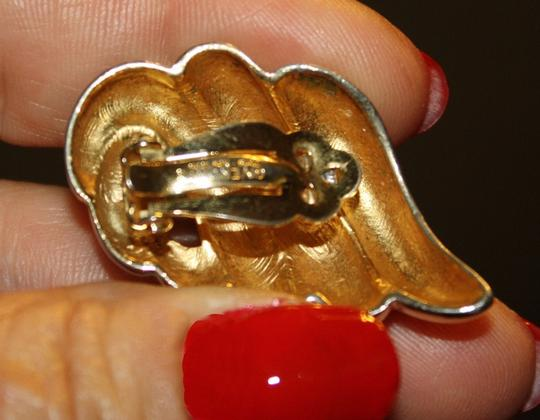Givenchy Vintage, Rare Givenchy Goldtone Earrings Image 2