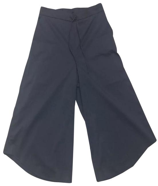 Item - Navy Blue Cropped High Waisted Pants Size 4 (S, 27)