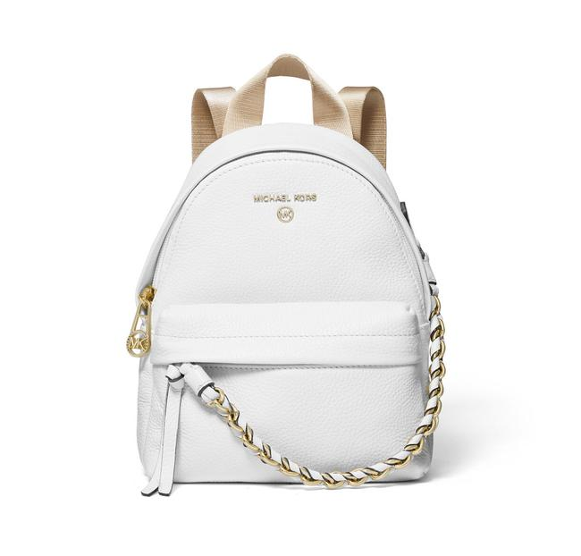Item - Slater Extra Small Convertible White Leather Backpack