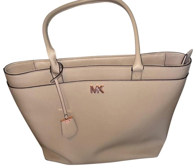 Item - Large Embossed Leather Tote