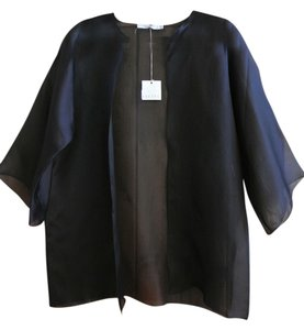 Frette Sheer Silk Jacket New With Tags Cardigan