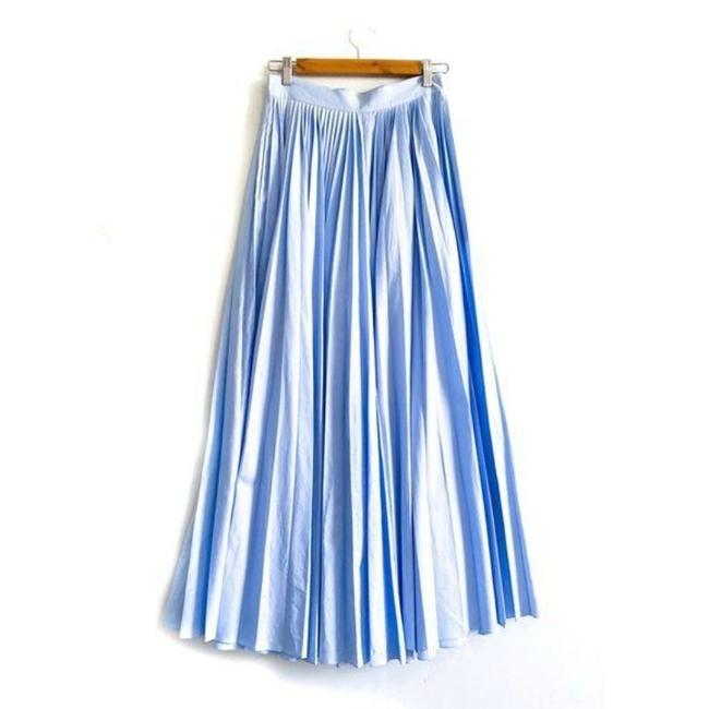Item - Blue Keira Pleated Pants Size 2 (XS, 26)