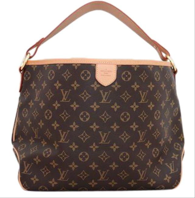 Item - Delightful Discontinued Excellent Condition Pm Brown Monogram Canvas Tote