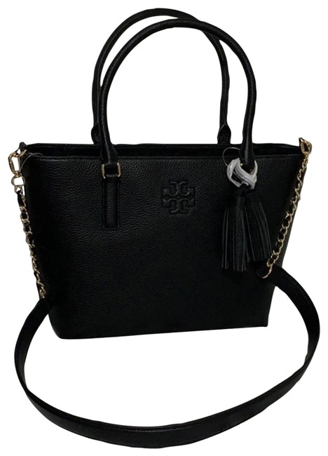 Item - Thea Small Convertible Tote Black Leather Shoulder Bag