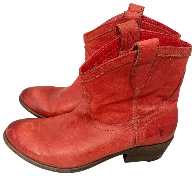 Item - Red Carson Ankle Boots/Booties Size US 8 Regular (M, B)