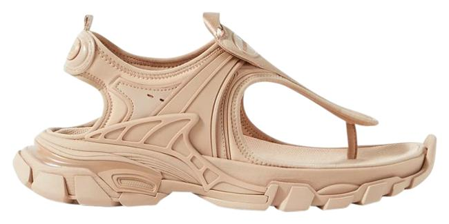 Item - Beige New Track Logo-detailed Rubber and Neoprene Sandals Size EU 36 (Approx. US 6) Regular (M, B)