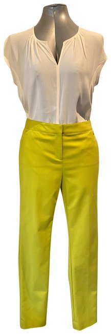 Item - Yellow / Chartreuse Collection Barcelona Dress Pants Size 6 (S, 28)
