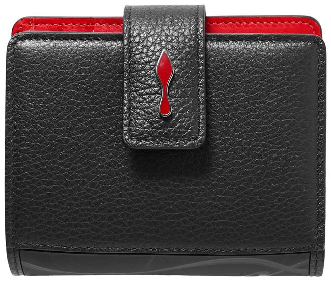 Item - Black Paloma Rubber-trimmed Textured-leather Wallet