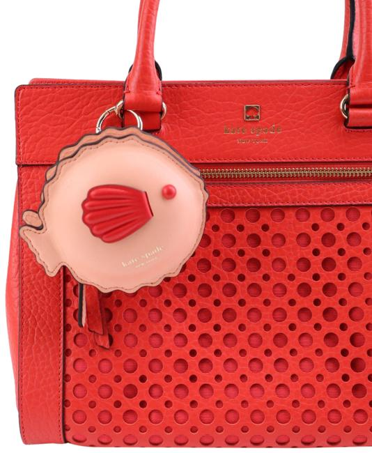 Item - Pink Puffy Fish Bag Charm Coin Purse Wallet