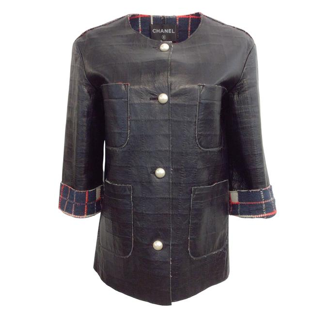 Item - Black With Pearl Buttons Jacket Size 8 (M)