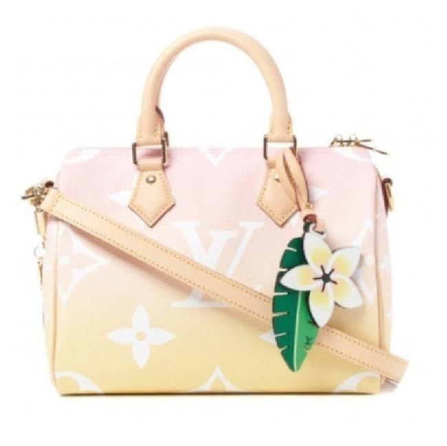 Item - Speedy By The Pool 25 Pink Monogram Giant Coated Canvas Shoulder Bag