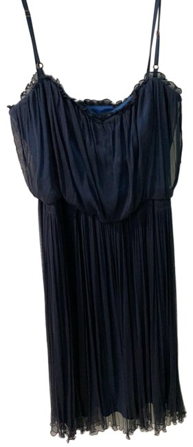 Item - Blue Day To Night Mid-length Cocktail Dress Size 8 (M)