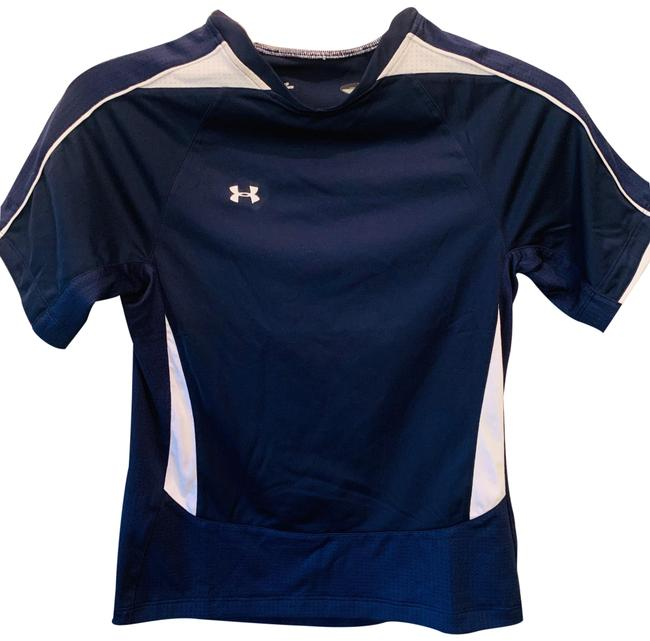 Item - Navy Blue & White Girls Activewear Top Size OS (one size)