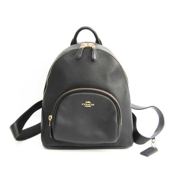 Item - Carrie 997 Women's Black Leather Backpack