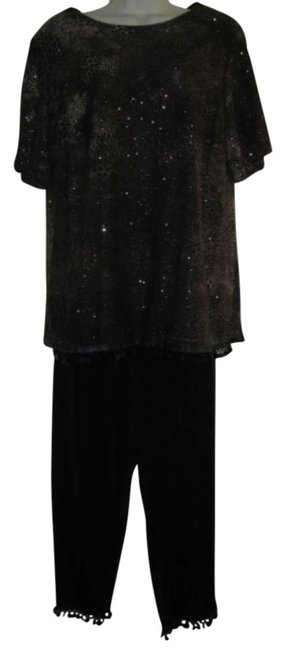 Preload https://img-static.tradesy.com/item/295028/ronni-nicole-brown-and-black-leopard-print-pant-suit-size-16-xl-plus-0x-0-0-650-650.jpg