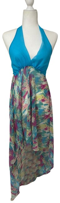 Item - Summer Stretchable Small Long Casual Maxi Dress Size 4 (S)