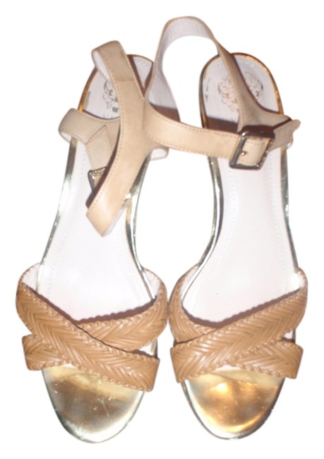 Vince Camuto Light Brown/Beige High Heel with and Open Toes Sandals Size US 11 Regular (M, B) Vince Camuto Light Brown/Beige High Heel with and Open Toes Sandals Size US 11 Regular (M, B) Image 1