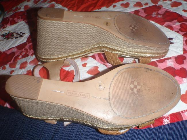 Vince Camuto Light Brown/Beige High Heel with and Open Toes Sandals Size US 11 Regular (M, B) Vince Camuto Light Brown/Beige High Heel with and Open Toes Sandals Size US 11 Regular (M, B) Image 4