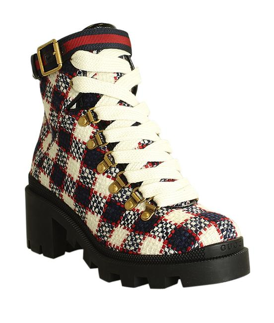 Item - Multi-color Sylvie Combat Tweed Ankle (199371) Boots/Booties Size EU 35 (Approx. US 5) Regular (M, B)