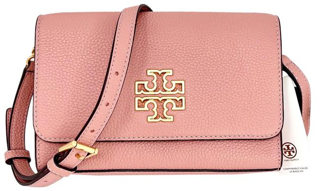 Item - Britten Combo Moon Pink Pebbled Leather Cross Body Bag
