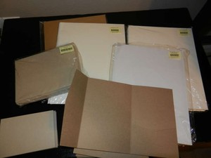 Kraft Taupe and Sand Pocketfold Invitation Cards with Envelopes/Paper