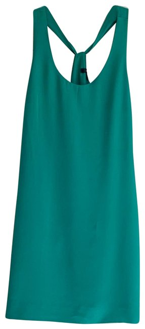 Item - Green A7548 Mid-length Cocktail Dress Size 10 (M)