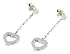 Tiffany & Co. Tiffany Heart Lariat Dangle Earrings