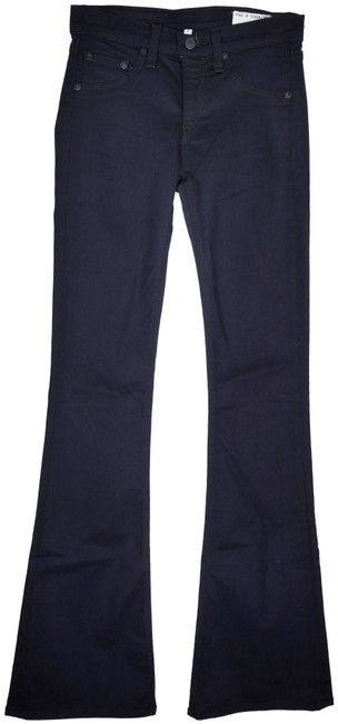 Item - Midnight Elephant Bell Mid Rise Flare Leg Jeans Size 25 (2, XS)