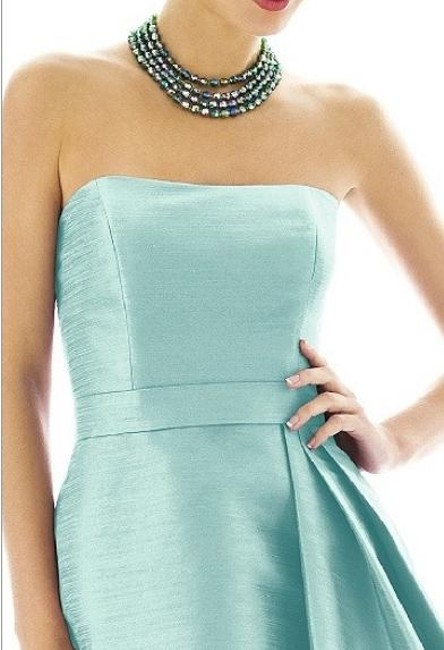 Alfred Sung Length Strapless Dress Image 2