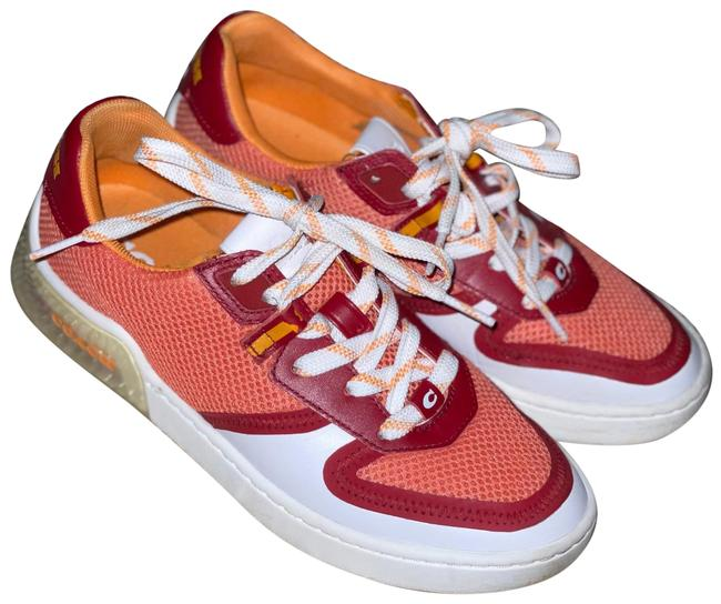 Item - Red Coral White Citysole Sneakers Size US 6 Regular (M, B)