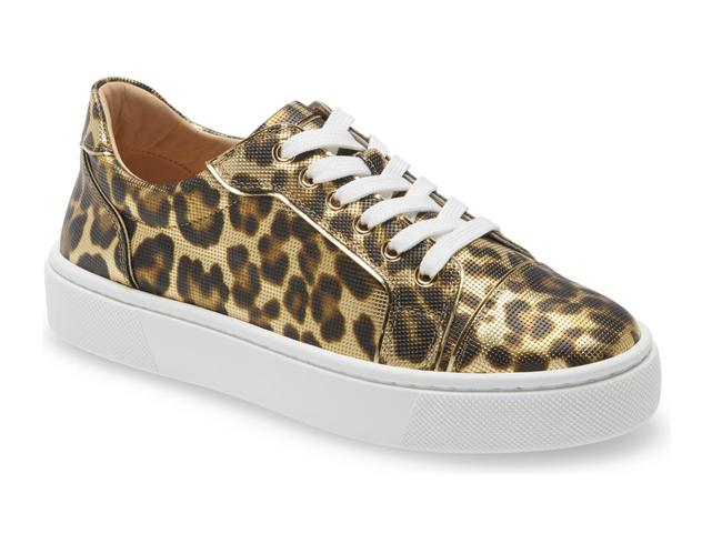 Item - Gold Vieirissima Flat Brown Black Leopard Lace Up Tie Low Top Sneakers Size EU 38 (Approx. US 8) Regular (M, B)