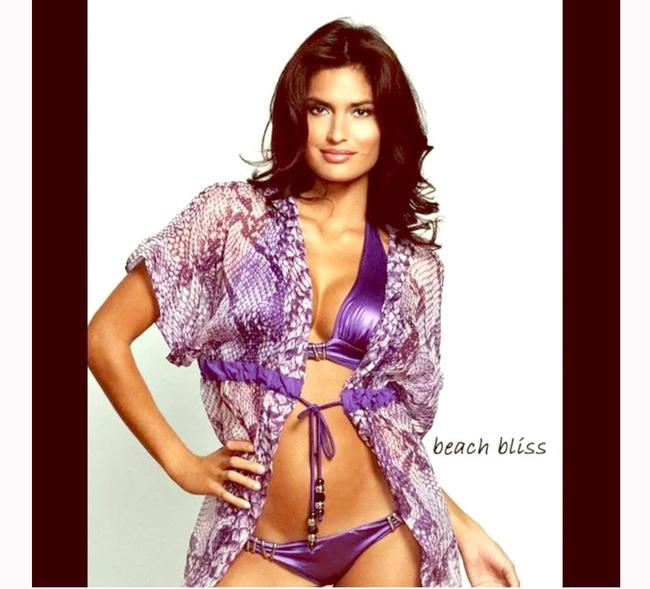 Item - Purple Modern Majestic Cover-up/Sarong Size 12 (L)