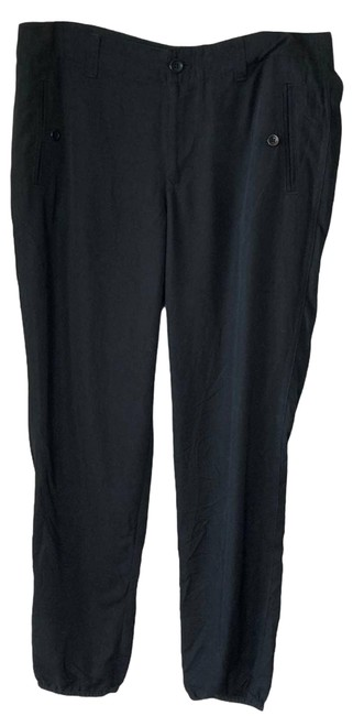 Item - Black Jogger with Elastic Ankle Pants Size 8 (M, 29, 30)