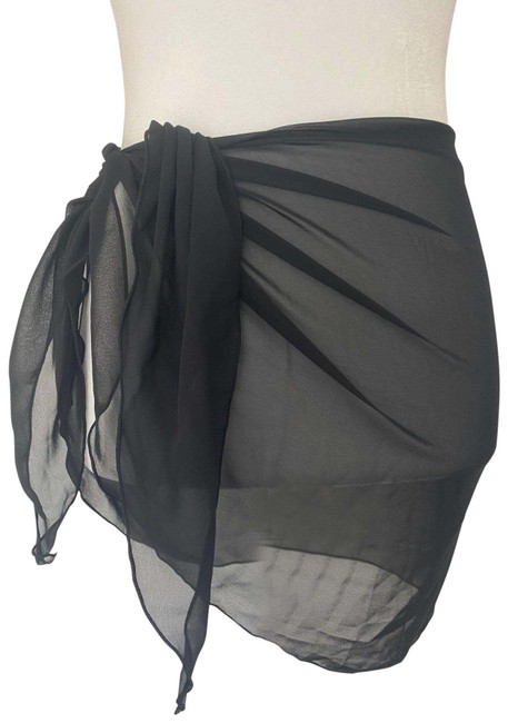 Item - Black Swimwear Small Cover-up/Sarong Size 4 (S)