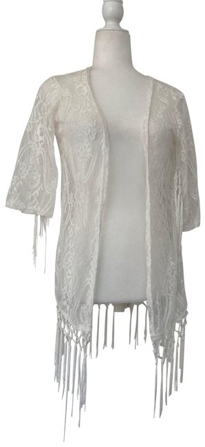 Item - White Swimwear Small Cover-up/Sarong Size 4 (S)