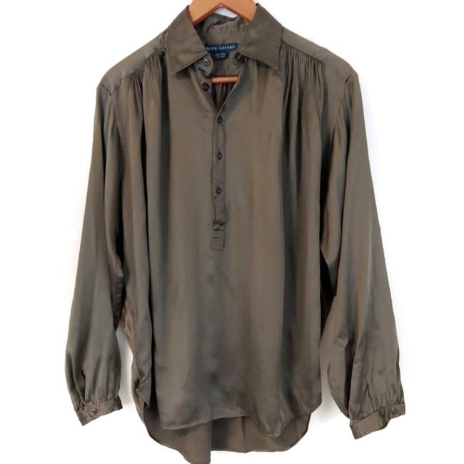 Item - Green Pure Blouse Size 10 (M)