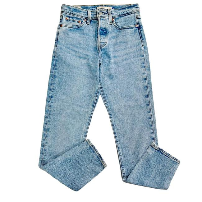Item - Blue Light Wash Wedgie Fit Bright Women's Skinny Jeans Size 25 (2, XS)
