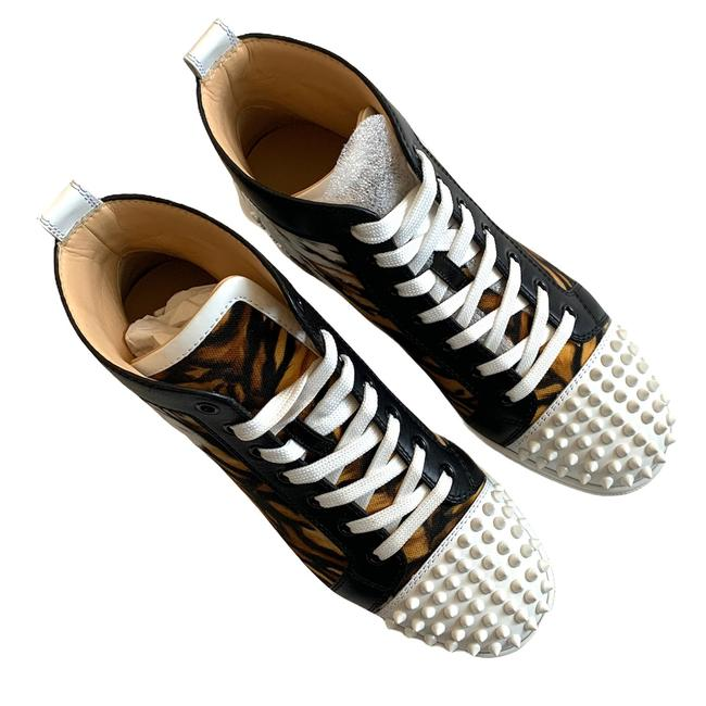 Item - Brown Unisex Lou Spikes Sneakers Size EU 40 (Approx. US 10) Regular (M, B)