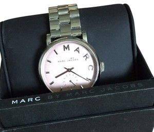 Marc by Marc Jacobs Marc By Marc Jacobs Silver/pink Watch
