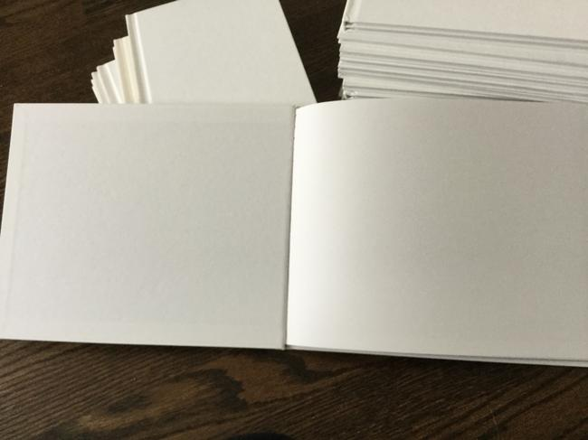 Item - White Lot Of 26 Blank Hardcover Books 28 Pages