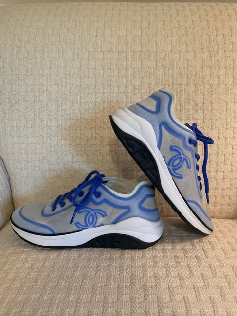 Chanel Blue/White 19p Sneakers Size EU 39 (Approx. US 9) Regular (M, B) Chanel Blue/White 19p Sneakers Size EU 39 (Approx. US 9) Regular (M, B) Image 8