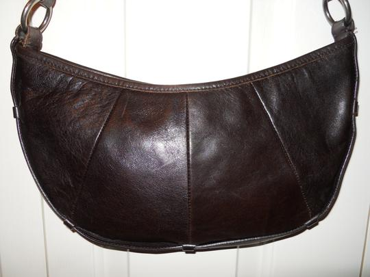 Enzo Angiolini Leather Os Shoulder Bag Image 1