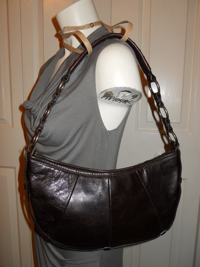 Enzo Angiolini Leather Os Shoulder Bag Image 2