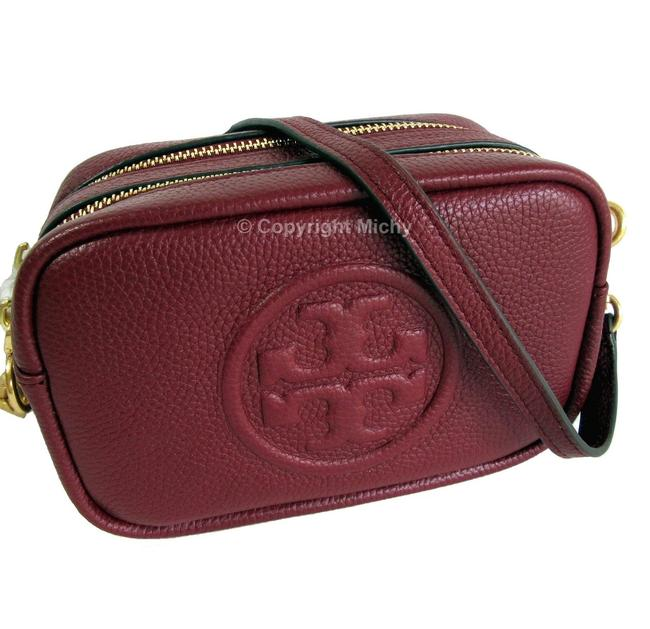 Item - Perry Bombe Mini Tinto Red Leather Cross Body Bag