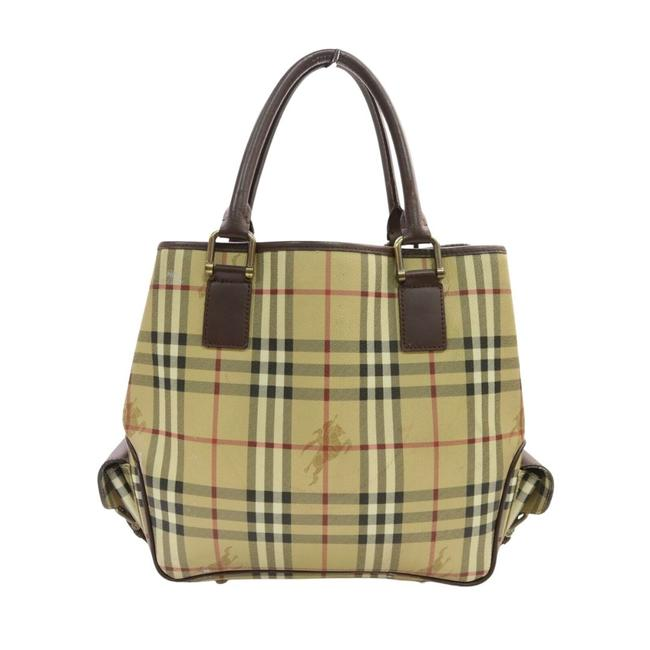 Item - Bag Light Coated Canvas #19413b17 Brown Tote