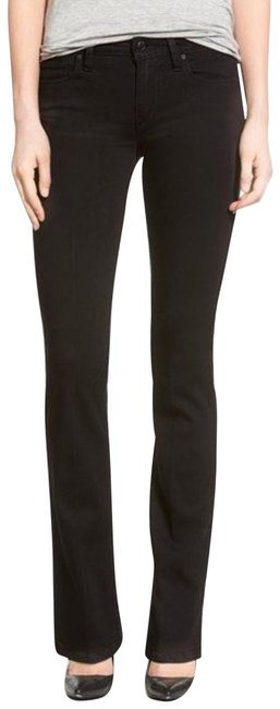Item - Black Dark Rinse Flawless The Icon Mid Boot Cut Jeans Size 8 (M, 29, 30)